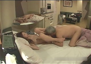 hiddencam - old japanese dude fuck call girl