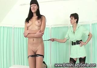 nurse lady sonia flogging floozy
