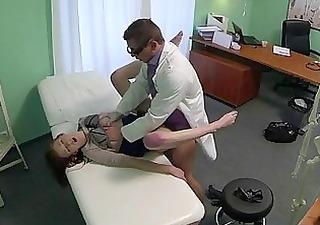 fraud doctor bangs milf in the hospital