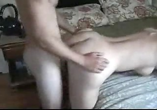 mother knows how to ride her step son in front of