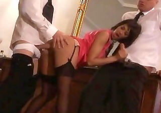 hot stewardess gets screwed by hard ramrods