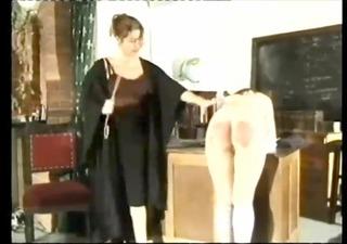 schoolgirl+mamma spanked